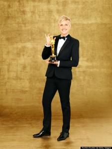 ABC's Portraits Of The 86th Annual Academy Awards Host Ellen DeGeneres