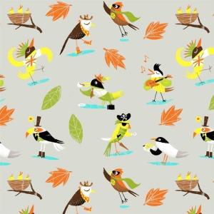 Birds-pattern